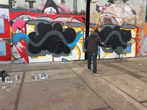 My first wall of 2017 at NDSM, Amsterdam